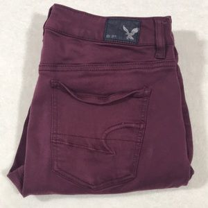 American Eagle HIGH RISE jegging size 10